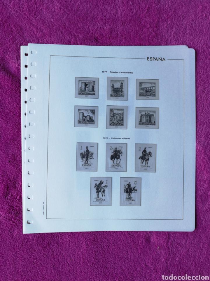 Sellos: HOJAS EDIFIL AÑO 1977 COMPLETO (FOTOGRAFÍAS REALES) - Foto 5 - 221114748