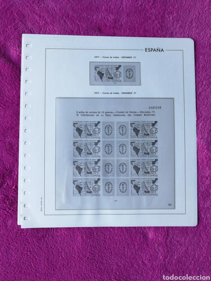 Sellos: HOJAS EDIFIL AÑO 1977 COMPLETO (FOTOGRAFÍAS REALES) - Foto 7 - 221114748