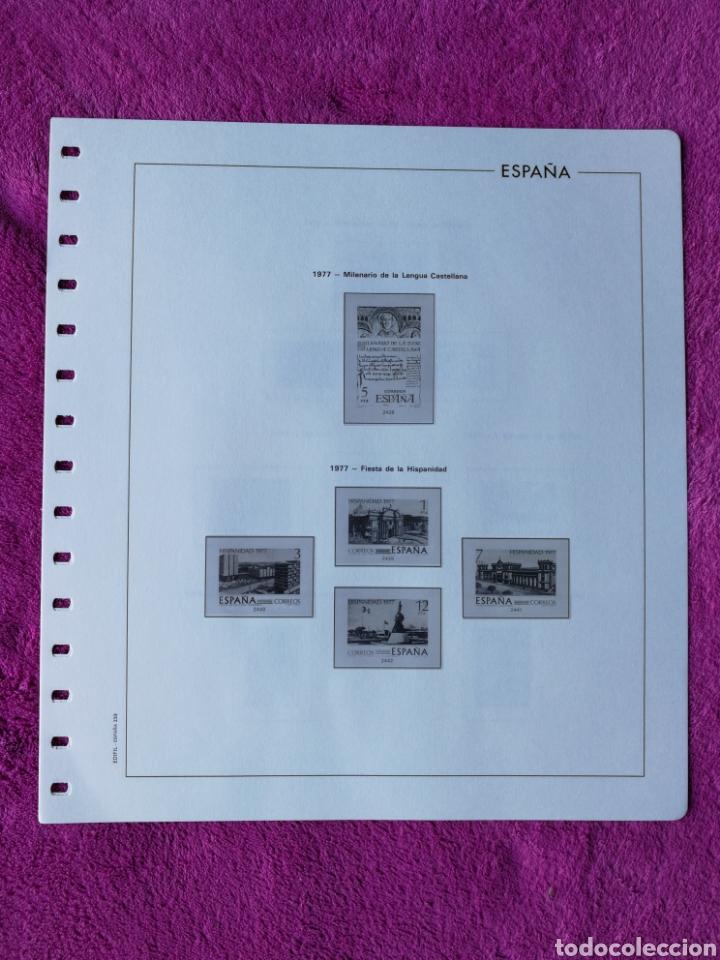 Sellos: HOJAS EDIFIL AÑO 1977 COMPLETO (FOTOGRAFÍAS REALES) - Foto 8 - 221114748