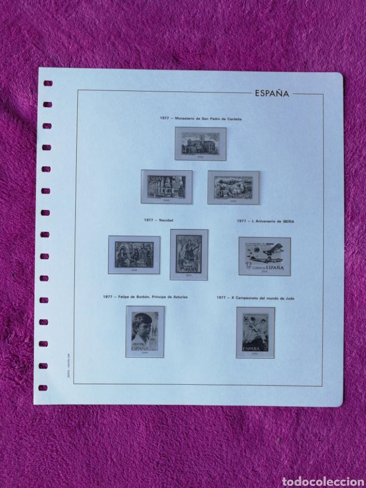 Sellos: HOJAS EDIFIL AÑO 1977 COMPLETO (FOTOGRAFÍAS REALES) - Foto 9 - 221114748