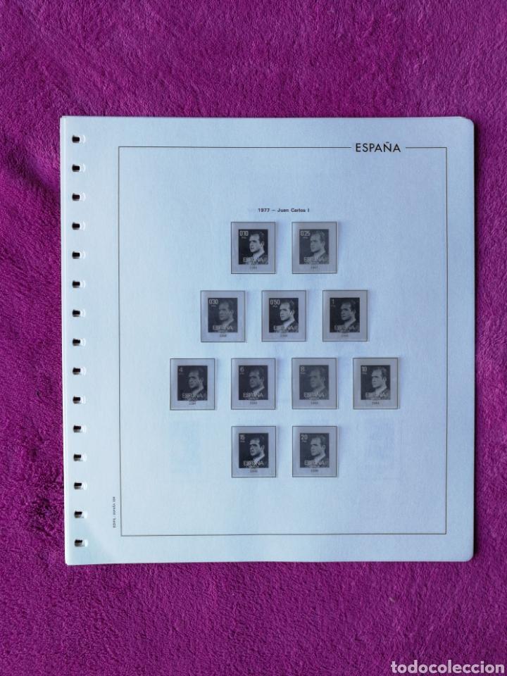 HOJAS EDIFIL AÑO 1977 COMPLETO (FOTOGRAFÍAS REALES) (Sellos - Material Filatélico - Hojas)