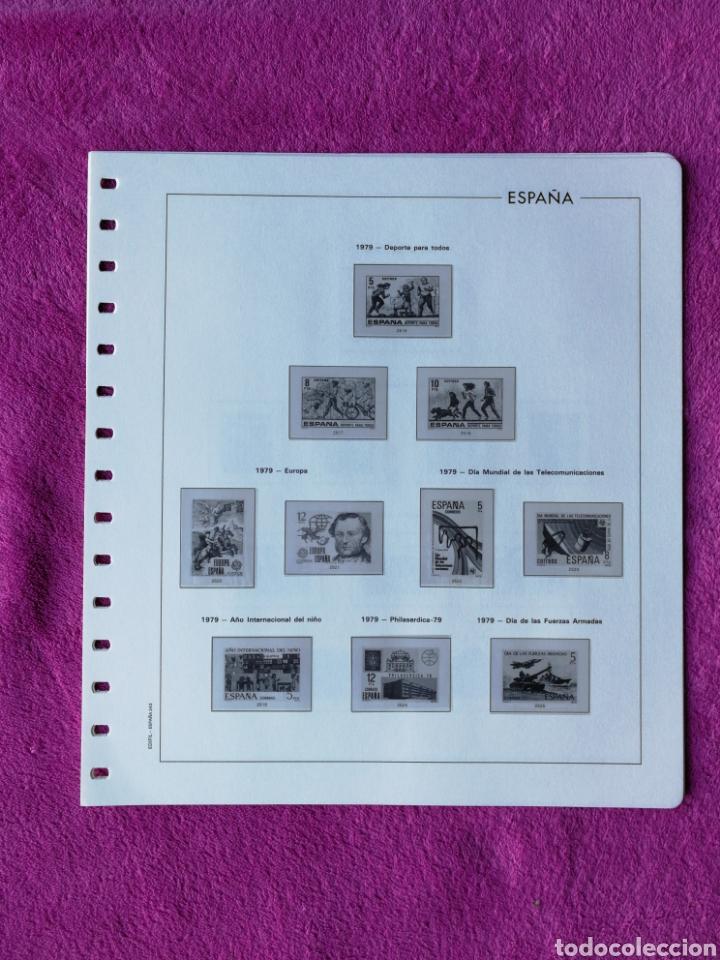 Sellos: HOJAS EDIFIL AÑO 1979 COMPLETO (FOTOGRAFÍAS REALES) - Foto 2 - 221115275