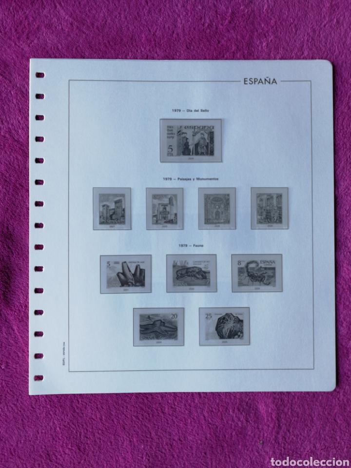 Sellos: HOJAS EDIFIL AÑO 1979 COMPLETO (FOTOGRAFÍAS REALES) - Foto 3 - 221115275