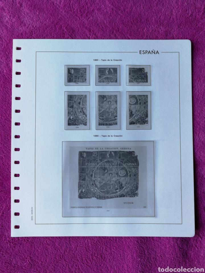 Sellos: HOJAS EDIFIL AÑO 1980 COMPLETO (FOTOGRAFÍAS REALES) - Foto 4 - 221115393
