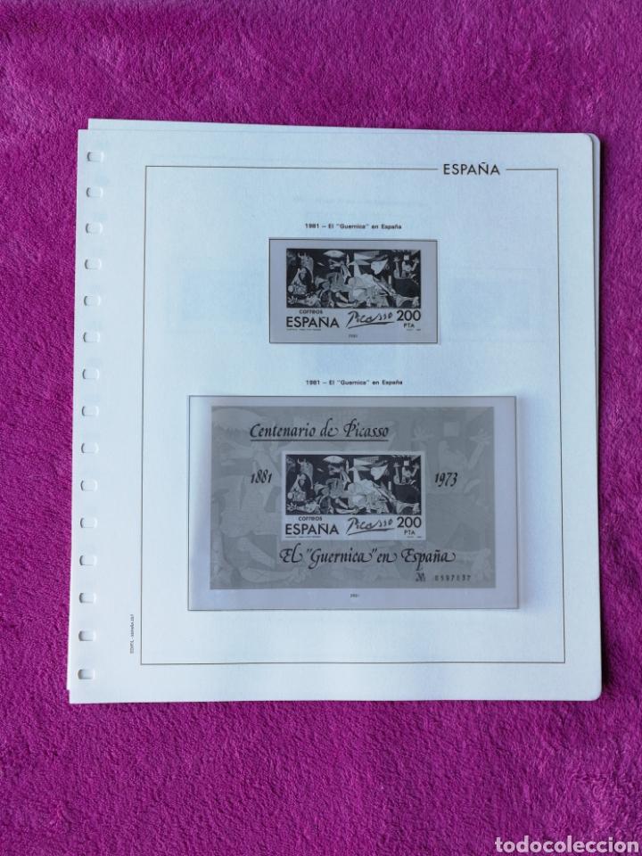 Sellos: HOJAS EDIFIL AÑO 1981 COMPLETO (FOTOGRAFÍAS REALES) - Foto 5 - 221116030