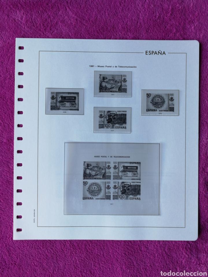 Sellos: HOJAS EDIFIL AÑO 1981 COMPLETO (FOTOGRAFÍAS REALES) - Foto 6 - 221116030