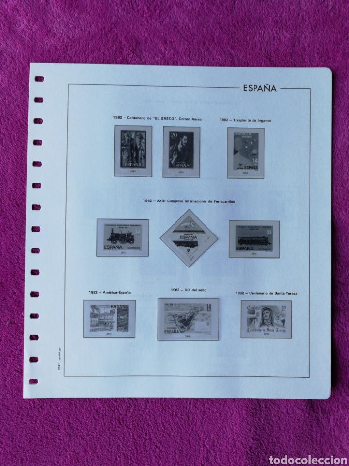 Sellos: HOJAS EDIFIL AÑO 1982 COMPLETO (FOTOGRAFÍAS REALES) - Foto 4 - 221116210