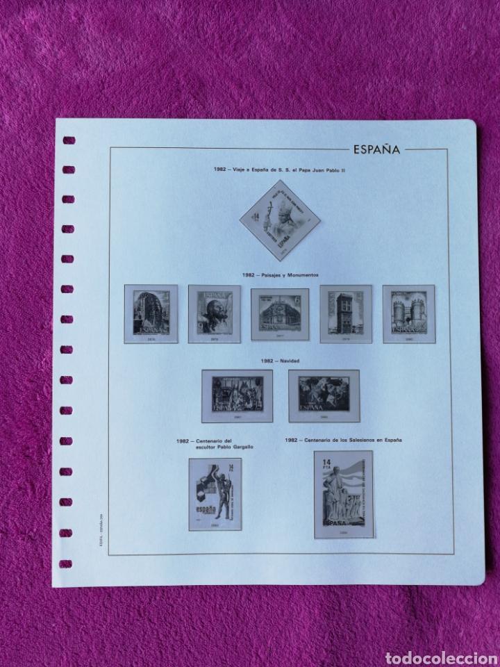 Sellos: HOJAS EDIFIL AÑO 1982 COMPLETO (FOTOGRAFÍAS REALES) - Foto 5 - 221116210