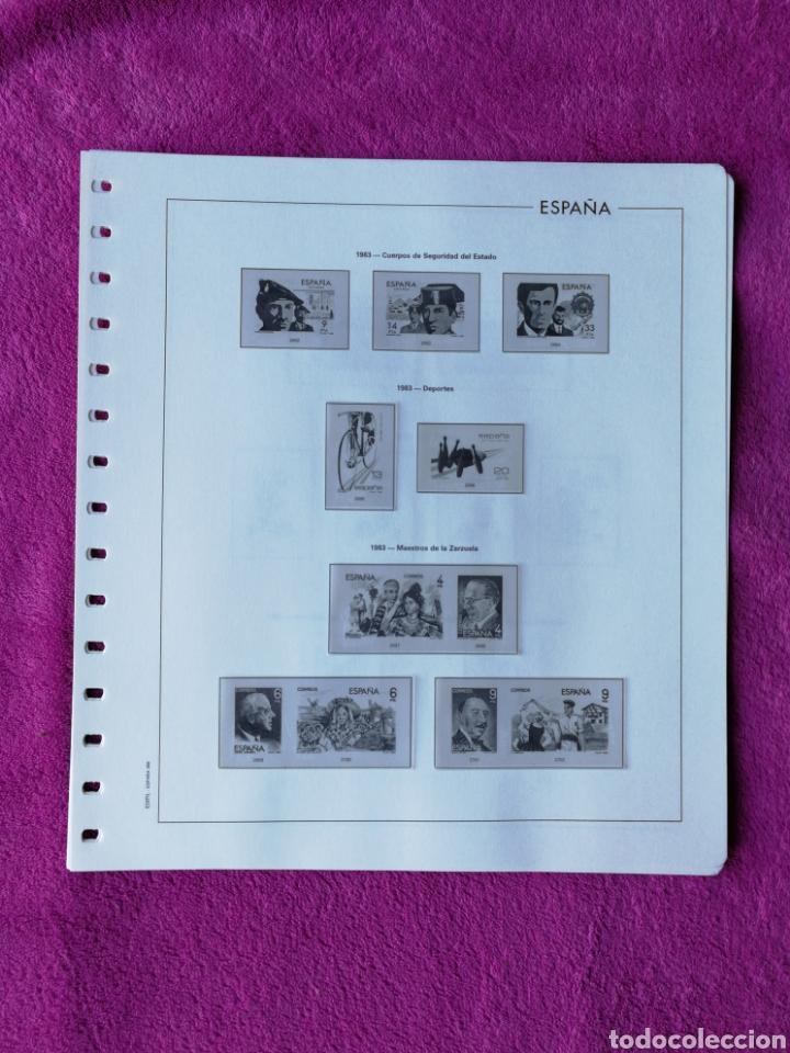 Sellos: HOJAS EDIFIL AÑO 1983 COMPLETO (FOTOGRAFÍAS REALES) - Foto 2 - 221116392