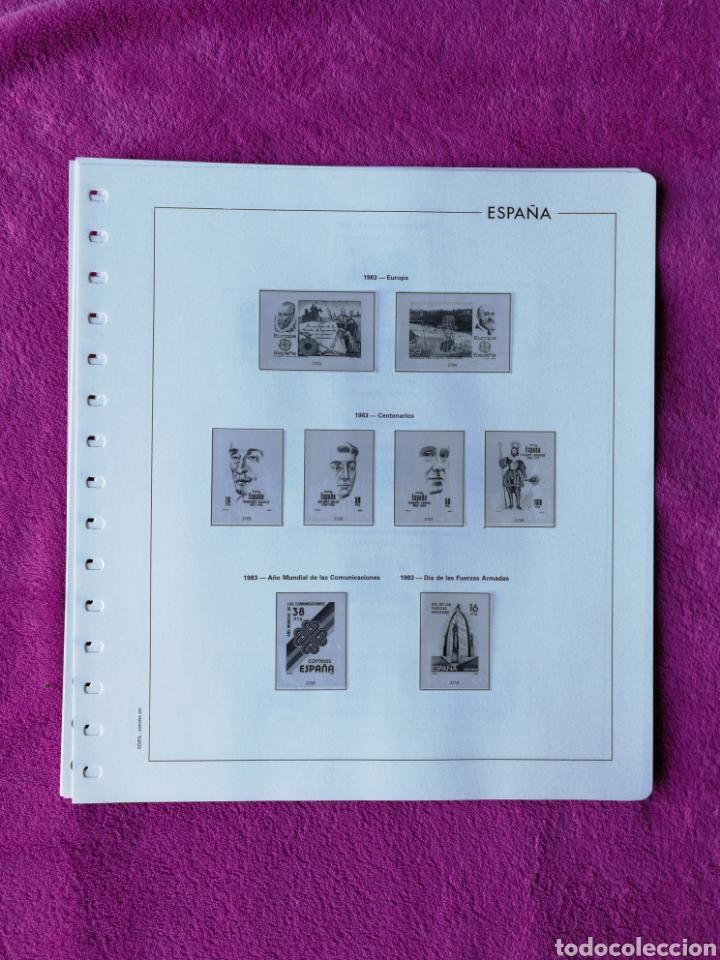 Sellos: HOJAS EDIFIL AÑO 1983 COMPLETO (FOTOGRAFÍAS REALES) - Foto 3 - 221116392