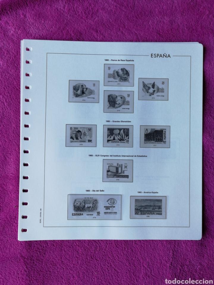Sellos: HOJAS EDIFIL AÑO 1983 COMPLETO (FOTOGRAFÍAS REALES) - Foto 4 - 221116392