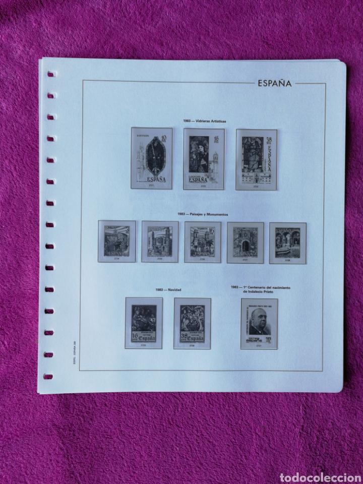 Sellos: HOJAS EDIFIL AÑO 1983 COMPLETO (FOTOGRAFÍAS REALES) - Foto 5 - 221116392