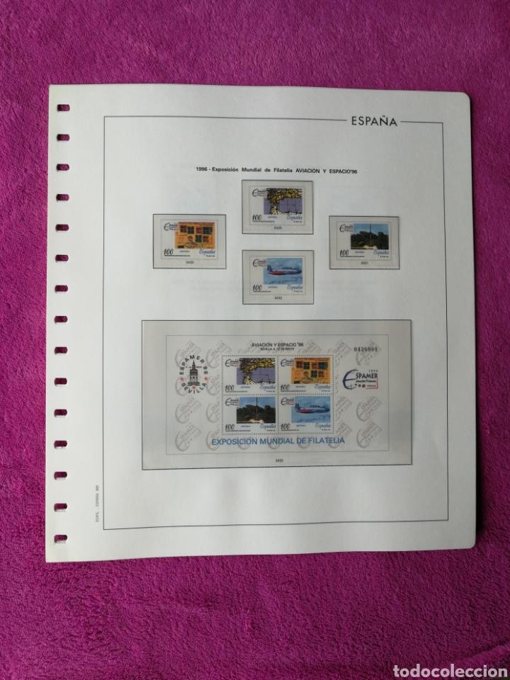 Sellos: HOJAS EDIFIL AÑO 1996 COMPLETO (FOTOGRAFÍAS REALES) - Foto 5 - 221120593