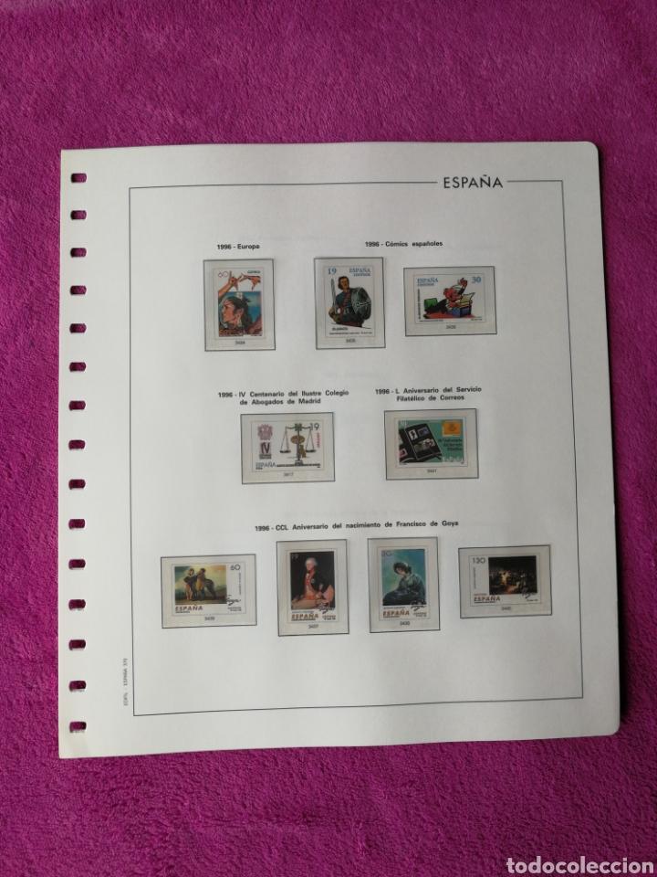 Sellos: HOJAS EDIFIL AÑO 1996 COMPLETO (FOTOGRAFÍAS REALES) - Foto 6 - 221120593
