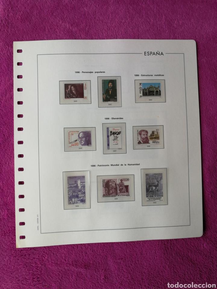 Sellos: HOJAS EDIFIL AÑO 1996 COMPLETO (FOTOGRAFÍAS REALES) - Foto 7 - 221120593