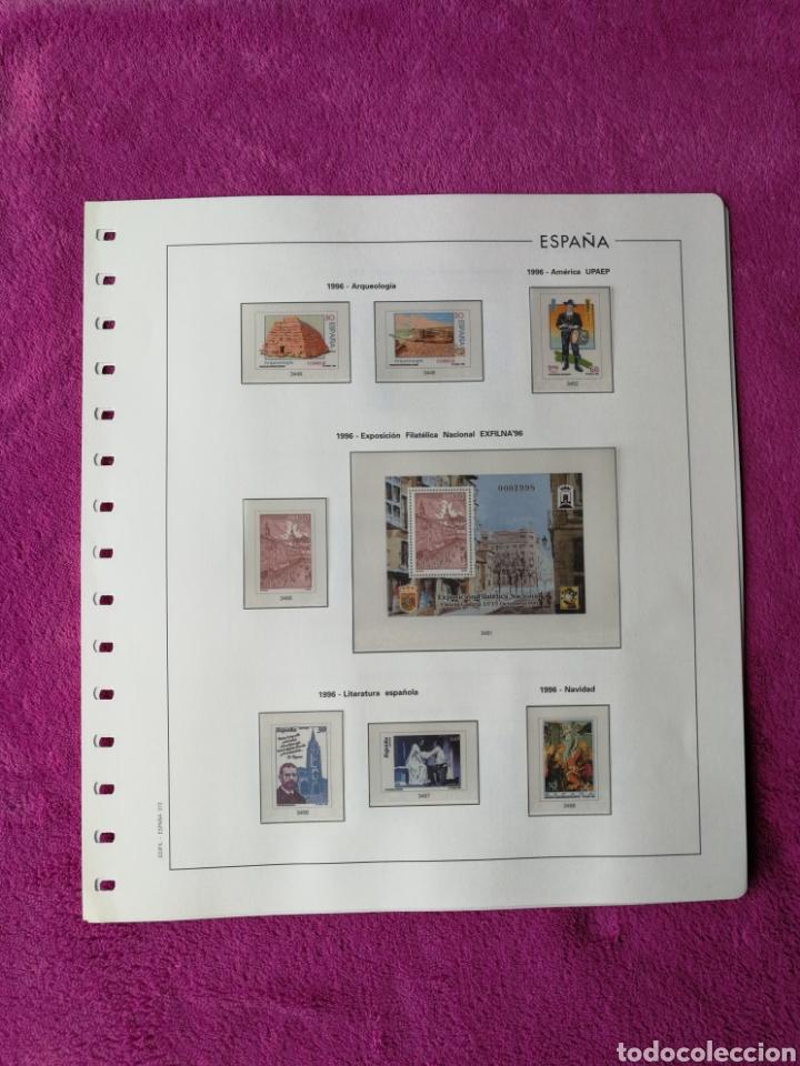 Sellos: HOJAS EDIFIL AÑO 1996 COMPLETO (FOTOGRAFÍAS REALES) - Foto 8 - 221120593