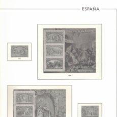 Sellos: 1992 HOJA ESPAÑA 339 LOS VIAJES DE COLÓN.RELATANDO EL DESCUBRIMIENTO. Lote 221260210