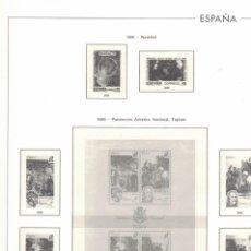 Sellos: 1990 HOJA 319 EDIFIL ESPAÑA CARNET V CENTENERIO DESCUBRIMIENTO.ESTUCHADO TRANSPARENTE. Lote 221260368