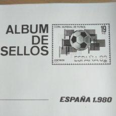 Sellos: ESPAÑA FOTOCOPIAS HOJAS AÑO 1980 ARCHIVOS SELLOS VARIAS CON ESTUCHES TRANSPARENTES CONFECCIONADOS. Lote 221551621
