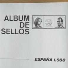 Sellos: ESPAÑA FOTOCOPIAS HOJAS AÑO 1988 ARCHIVOS SELLOS. Lote 221553246