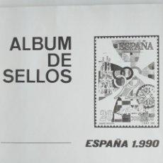 Sellos: ESPAÑA FOTOCOPIAS HOJAS AÑO 1990 ARCHIVOS SELLOS. Lote 221553626