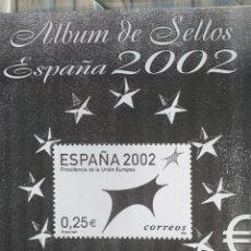 Sellos: ESPAÑA FOTOCOPIAS HOJAS AÑO 2002 ARCHIVOS SELLOS (UNA HOJA PRESENTA DOBLECES). Lote 221555640