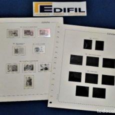 Sellos: EDIFIL ESPAÑA 1987 MONTADO CON ESTUCHES TRANSPARENTES O NEGROS ( A ESCOGER). Lote 221724912