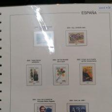 Sellos: ESPAÑA HOJAS DE ÁLBUM EDIFIL SUPLEMENTO AÑO 2003 MONTADO EN BLANCO (SEMI NUEVO). Lote 228556615
