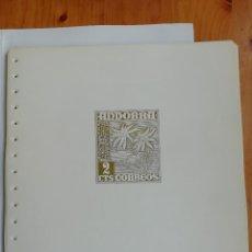 Francobolli: HOJAS EDIFIL ANDORRA (VER DESCRIPCIÓN). Lote 228867910