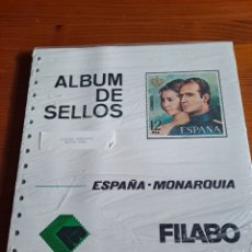 Sellos: HOJAS SUPLEMENTO, FILABO, ESPAÑA MONARQUIA, HASTA 1980, COMPLETO, NUEVO, ÚNICO, VER. Lote 251428500