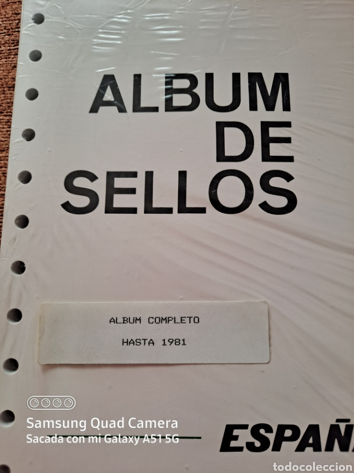 Sellos: HOJAS SUPLEMENTO, FILABO, HASTA 1981, COMPLETO, NUEVO, ÚNICO, VER - Foto 2 - 233087175