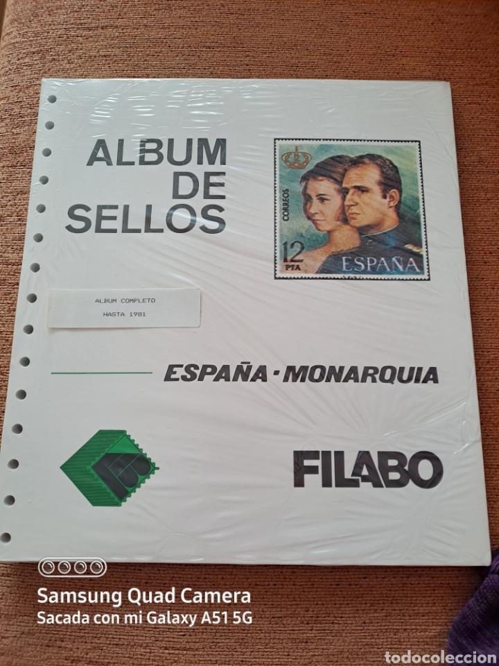 HOJAS SUPLEMENTO, FILABO, HASTA 1981, COMPLETO, NUEVO, ÚNICO, VER (Sellos - Material Filatélico - Hojas)