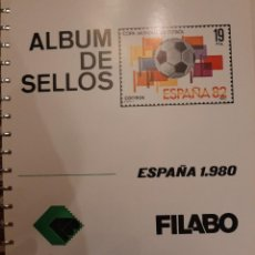 Sellos: SUPLEMENTO HOJAS FILABO. ESPAÑA 1980.. Lote 233326760