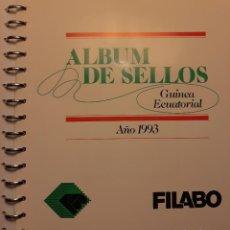 Sellos: SUPLEMENTO HOJAS FILABO. GUINEA ECUATORIAL 1993.. Lote 233329140