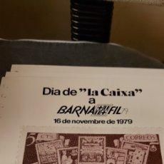 """Sellos: DIA DE """"LA CAIXA"""" A BARNAFIL 79. Lote 234697890"""
