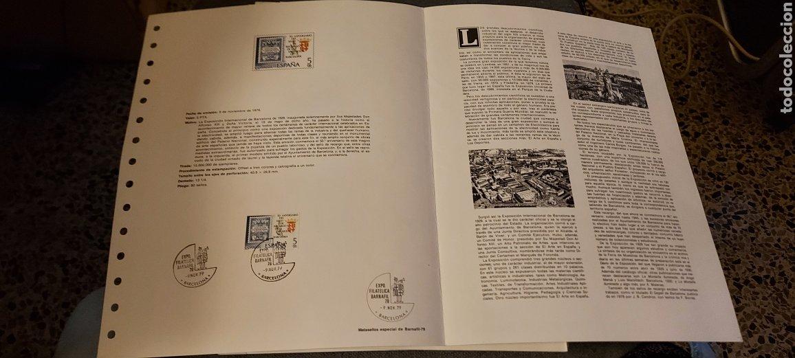 Sellos: Exposición Internacional. Barcelona 1929. Barnafil- 79 - Foto 2 - 234702310