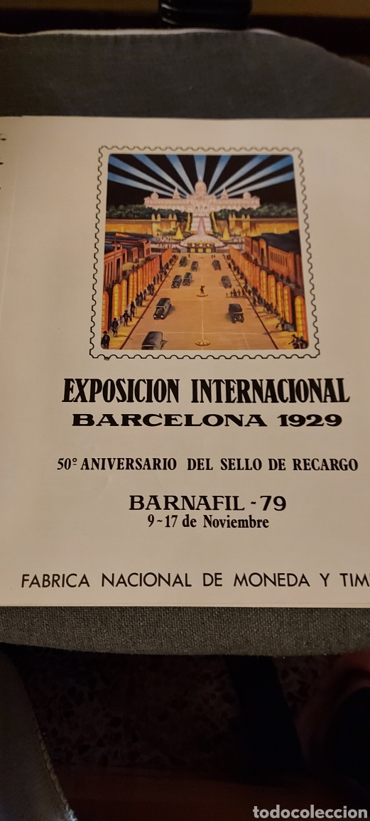 EXPOSICIÓN INTERNACIONAL. BARCELONA 1929. BARNAFIL- 79 (Sellos - Material Filatélico - Hojas)