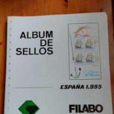 Sellos: HOJAS FILABO ESPAÑA 1995. Lote 235251540