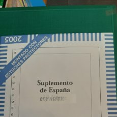 Sellos: FILABO HOJAS MONTADAS CON ESTUCHES PARA COLOCAR SELLOS 2005 ESPAÑA COMPLETO FILATELIA COLISEVM. Lote 235716795