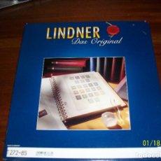 Sellos: HOJAS LINDNER-SELLO IMPRESO COLOR-AÑOS 1989-1990-1991-NUEVOS. Lote 235820135