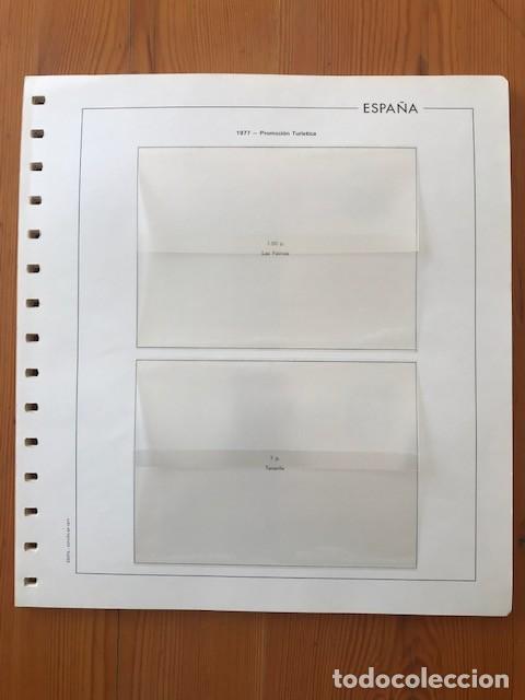HOJAS EDIFIL, ESPAÑA, ENTEROS POSTALES, DEL 1977 AL 1998 (Sellos - Material Filatélico - Hojas)