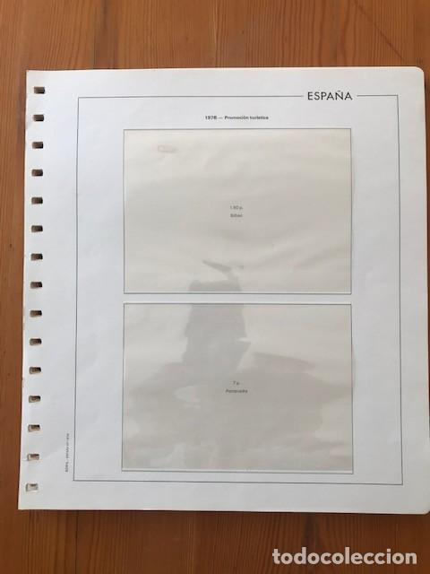 HOJAS EDIFIL, ESPAÑA, ENTEROS POSTALES, SOBRES, DEL 1985 AL 1999 (Sellos - Material Filatélico - Hojas)