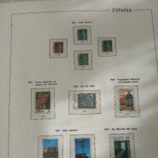 Selos: HOJAS EDIFIL DE ESPAÑA DEL AÑO 1997, PAPEL BLANCO Y FILOESTUCHES TRANSPARENTES. Lote 238302140