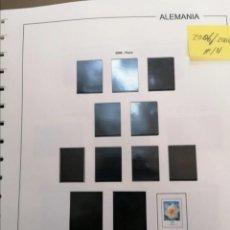 Francobolli: ALEMANIA HOJAS DE ÁLBUM EDIFIL SUPLEMENTOS AÑOS 2006 AL 2008 MONTADAS EN NEGRO (SEGUNDA MANO). Lote 238350415
