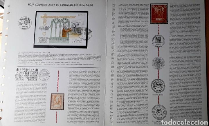 Sellos: PUBLICACIÓN CON MOTIVO DE EXFILNA 86 - Foto 2 - 240824430