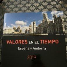 Sellos: LIBRO 2019 VALORES EN EL TIEMPO. SIN SELLOS PERO CON FILOESTUCHES. Lote 243435170