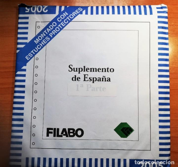 HOJAS DE SELLOS ÁLBUM FILABO CON FILOESTUCHES TRANSPARENTES DEL 2005 (Sellos - Material Filatélico - Hojas)