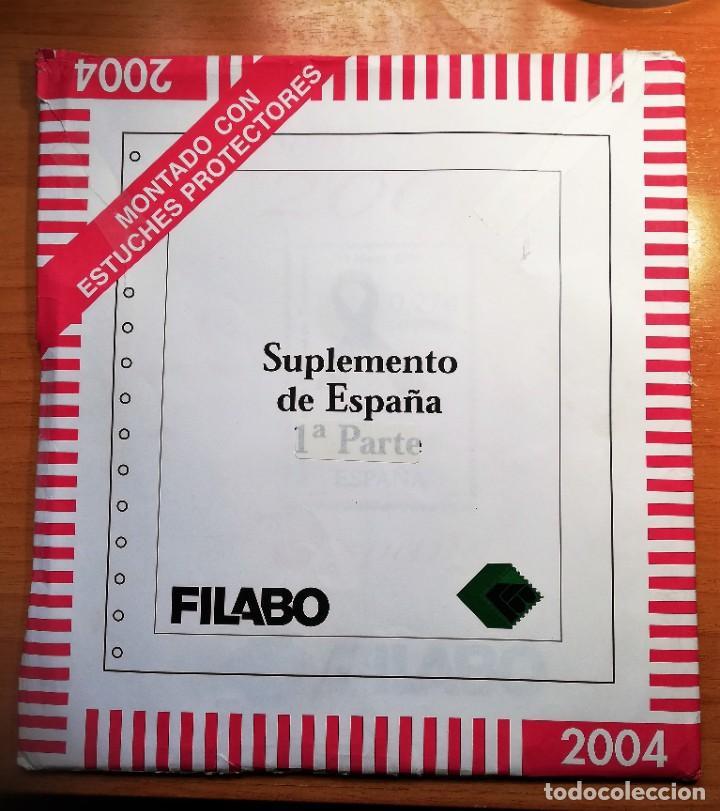 HOJAS DE SELLOS ÁLBUM FILABO CON FILOESTUCHES TRANSPARENTES DEL 2004 (Sellos - Material Filatélico - Hojas)