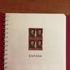 Francobolli: HOJAS EDIFIL PARA SELLOS DE ESPAÑA AÑO 2000 EN BLOQUE DE 4 (FOTOGRAFÍA REAL). Lote 251829445