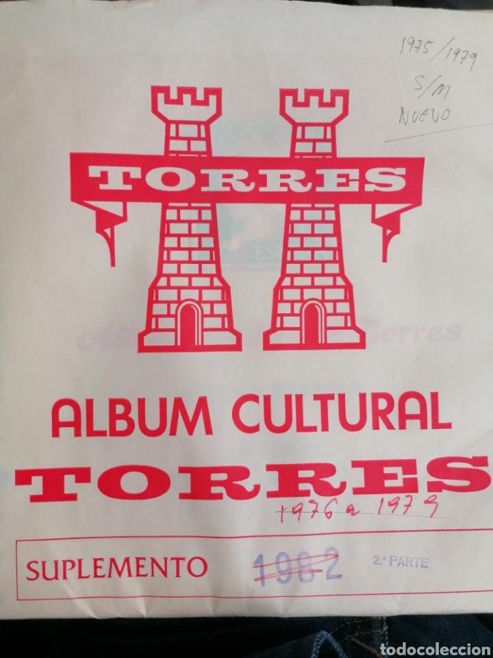 ESPAÑA HOJAS DE ÁLBUM TORRES SIN MONTAR AÑOS 1975 AL 1979 (NUEVO) (Sellos - Material Filatélico - Hojas)